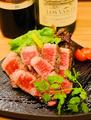 料理メニュー写真滋賀県から直送!近江牛の炭焼きステーキ