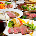 五島軒伝統のカレーはもちろん、洋食バルとしてこだわりの肉料理も多種取り揃えております。赤身肉をじっくり焼き上げ、旨みを凝縮。贅沢な味わいに仕上げた極上の肉料理をぜひご堪能下さい!