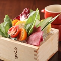 料理メニュー写真加賀野菜のカニ味噌バーニャカウダ