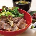料理メニュー写真那須野ヶ原牛 サーロインステーキ丼