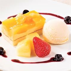 パイン&マンゴーアイスケーキ