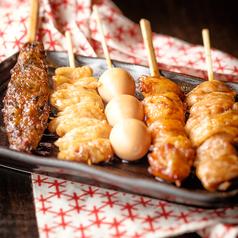 串焼き盛り合わせ 5種(タレ・塩)