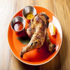 料理メニュー写真タイ風焼鳥 ガイヤーン