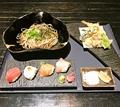 料理メニュー写真寿司そば御膳