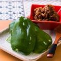 料理メニュー写真肉味噌のぱりぱりピーマン