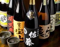 馬刺し、馬肉料理に合う焼酎、日本酒をお楽しみ下さい。