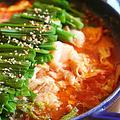 料理メニュー写真韓国もつ鍋