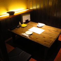 【デートや接待に◎】2人用のお部屋もございます。掘りごたつ個室となっておりますので、2人だけの空間をお過ごし頂けます。