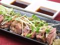 料理メニュー写真九州鶏のたたき