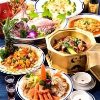 中国を代表する本格四川料理を多数ご用意しております!