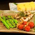 料理メニュー写真ししとう/トマト焼き