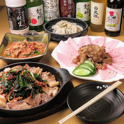 韓国家庭料理&居酒屋 うわさのへそんちゃん 新大久保店