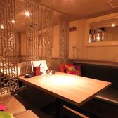 デートや女子会、誕生日、記念日にぴったりなデザイナーズ空間♪カップルでのご利用におすすめのお席です。