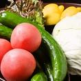 安心・安全な野菜を季節により仕入れます