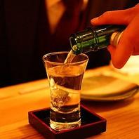 和食の女房役、日本酒は全国から銘酒をお取り寄せ