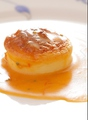 料理メニュー写真ホタテ貝のスフレ オマール海老のソース
