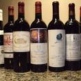 ワイン70種、焼酎60種等、豊富な種類のお酒をご用意しております。お好みに沿ったドリンクのご提案も行っているので、お気軽にお声かけ下さい。