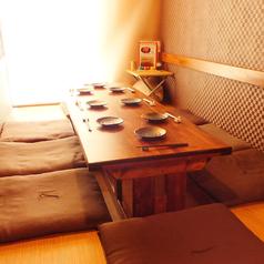 一日一組様限定個室となっております。