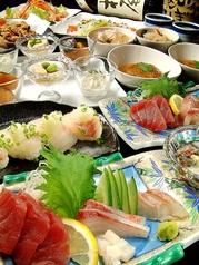 ご宴会には欠かせないお酒の肴を多種多彩にご用意しております♪至極の厳選鮮魚と季節の旬野菜を使用!新鮮素材の創作料理を是非一度ご賞味下さい♪