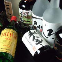 焼酎・日本酒も豊富に!