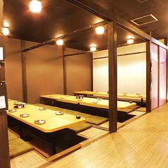 30名以上個室 【最大80名様】まで★※系列店舗との併設店舗となります