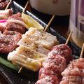 料理メニュー写真おまかせ串焼盛り合わせ 5本盛/8本盛