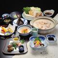 料理メニュー写真若鶏の水炊き会席(水炊き&京会席)8000円→7000円