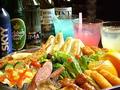 料理メニュー写真パーティーセット(上記500円のお料理から3点お選び下さい。)