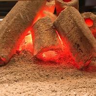こだわりの高級炭で焼く焼肉は格別♪