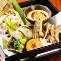 料理メニュー写真季節の焼き野菜ディップ