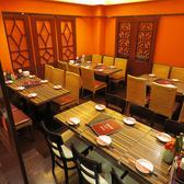≪テーブル6名×4≫店内はとても広々としていて清潔感があります。荷物が多くても安心してご利用いただけます♪