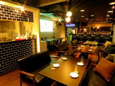 隠れ家的な雰囲気のカフェ&バーが市役所前に新登場♪女子会~ご宴会までOK★
