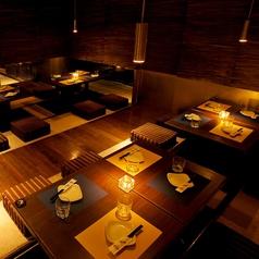 隠れ家個室 肉バル GLAM グラム 梅田店の雰囲気1