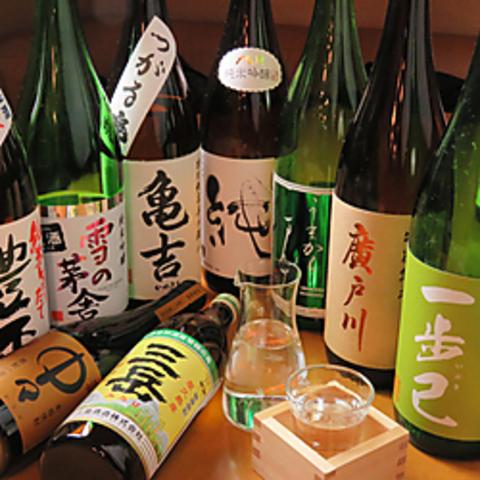 仙台駅より徒歩10分!割烹着の女将がもてなす、家庭料理と日本酒充実の居酒屋☆
