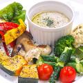 料理メニュー写真シャキッと新鮮野菜のバーニャカウダー