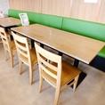 テーブル6名様席