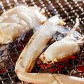 料理メニュー写真タラバ炭火焼