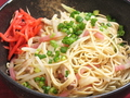 料理メニュー写真博多屋台名物 焼きラーメン