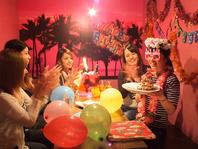 誕生日には個室アレンジOK♪ご相談ください!