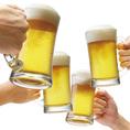ドリンクも種類豊富に。生ビールや焼酎、各種カクテルやサワーまで充実!各種ご宴会もお任せください。