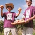 産地にもこだわっています!契約農家だから安い♪宮崎県内の農家と、野菜ごとに契約。いいものを安くご提供できるのは仕入れのルートにこだわっているからこそ!
