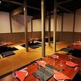 総席数100席!10名様規模でも使える個室も完備!新宿での宴会はぜひとも当店をご利用くださいませ♪