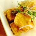 料理メニュー写真島豆腐の厚揚げ