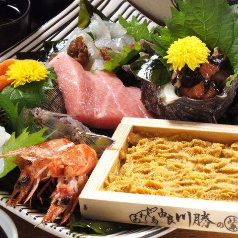【大切な日はコレ】旬の食材をギュっと詰め込んだ!隼人おまかせコース料理B☆13品/10000円☆
