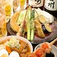 季節ごとに変わる飲み放題付の4000円コースが人気!各種宴会におすすめです。