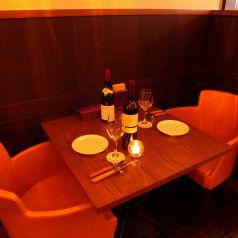 誕生日・記念日におすすめの2名様用テーブル席