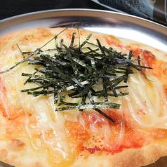 明太ポテトpizza