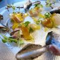 料理メニュー写真魚介中心のおまかせ前菜盛合わせ (1皿)