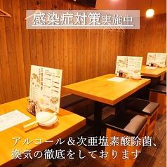 やきやき鉄板&焼鳥&三津浜焼き ひまわり 一番町電車通り店の雰囲気2