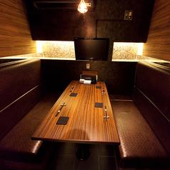 【B1】テーブル個室 2名~4名様少人数個室。会社帰りや、友人同士の気軽な飲み会にご利用下さい。